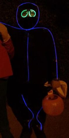 glow stick man costume