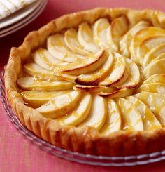 Recipe for Weight Watchers Caramel Apple Tart