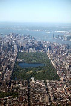 Central Park Aerial bySchneider