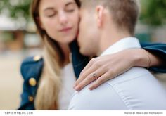 We love this simplistic, elegant ring! | Photographer: Brian Wright, French Grey Photography