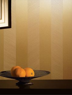 Living Room Wall painted with gold metallic paint and gold matte metallic paint.