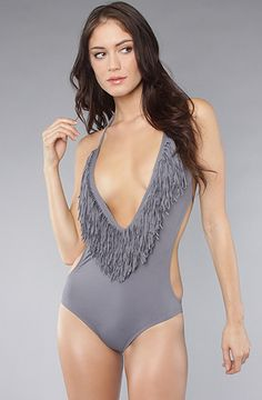 The Stardust One Piece in Gray by L Space