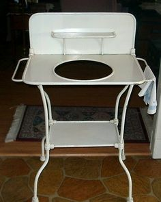 Vintage Metal Wash Stand - Very Rare Piece - Excellent Condition
