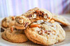 chocolate covered pretzel cookies.
