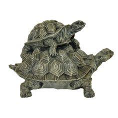 Lady Bug Double Turtle Key Safe