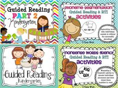 Guided Reading Deluxe Bundle: 300+ pages of guided reading material$