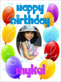Birthday Photo Poster