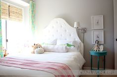 Crazy Wonderful: big girl room reveal!