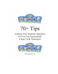 70+ Transition Tips