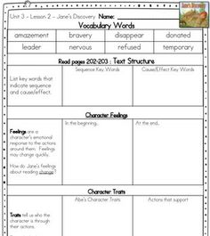 WONDERS 3RD GRADE - GUIDED READING GROUPS - UNIT 3 - TeachersPayTeachers.com