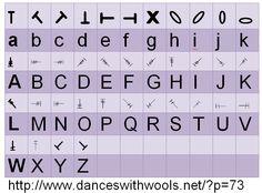 Crochet Symbol Font by http://www.danceswithwools.net/?p=73