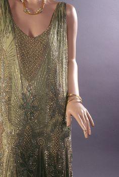 Paul Poiret inspired dress.