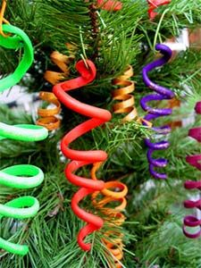 Sculpey Ribbons for ornaments or bouquets