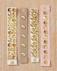 Handmade Jewelry: Studded Jewelry and Accessories - Martha Stewart
