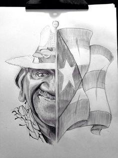 """Héctor Estela """"Tito Curet"""" tomado de Caricatura Puertorriqueña en FB"""