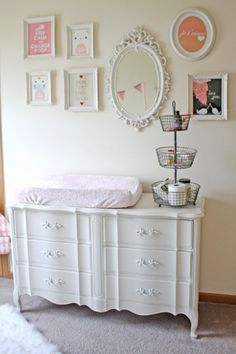 Gallery Wall Dresser Changing Table