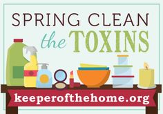 spring clean the toxins