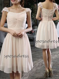 short+bridesmaid+dress+junior+bridesmaid+dress+short+by+sposadress,+$119.00 love!
