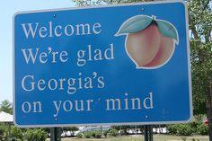Georgia on my mind...