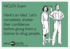 ...right, nursing students?! #LOL #NCLEX #Nurses