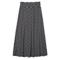 IZ Amy Byer Chevron Maxi Skirt - Girls 7-16