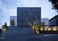 HOUSE in Shinoharadai | Tai and Associates modern, tai, arquitectura, houses, japan, exterior, shinoharadai, architectur pins2013, associ hous