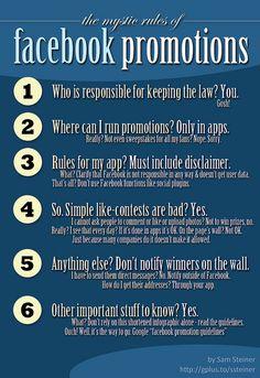 Facebook Promotion Rules by Sam Steiner, via Flickr
