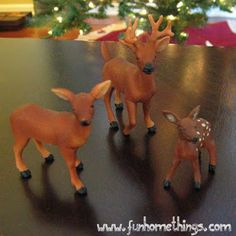 Fun Home Things: How to Turn Dollar Store Toys Into Holiday Decorations