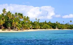A beautiful beach in Fiji. (From: PHOTOS: South Pacific Islands You CAN Afford!)