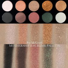 ⋆ Pat McGrath Labs Mothership II – The Sublime Eye Palette‎ ⋆ REVIEW & SWATCHES – Peace & Wilderness