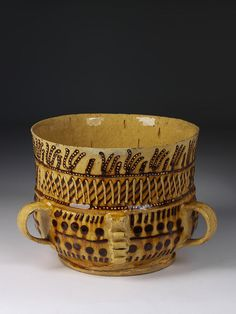 english posset pot ....1700