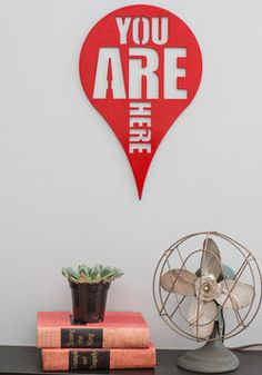 Here and Now Wall Decor, #ModCloth