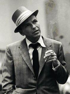 Frank Sinatra, US-amerikanischer Sänger und Schauspieler.
