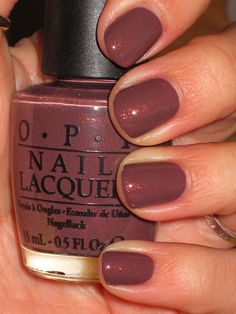 Love for Fall!  OPI Wooden Shoe Like To Know?
