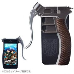 Attack on Titan Super Hard Blade Case for iPhone 5s/5