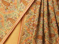 Beautiful Embroidered #Saree by Banaras http://www.ekaya.in/ ~