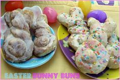 Easter Bunny Buns {A Yummy Easter Treat}