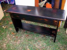 Primitive Bench. $55.00, via Etsy.