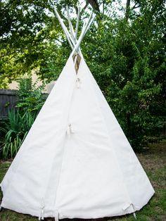 How to Build a Backyard Teepee --> http://www.hgtvgardens.com/family-gardening/how-to-build-a-backyard-tepee?soc=pinterest