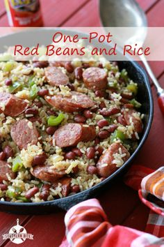 Easy and delicious: One-Pot Red Beans and Rice