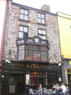 Kings Head Pub, Galway, Ireland