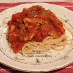 Skinny Chicken Cacciatore [recipe] | Picklee