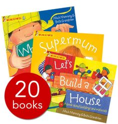 An award-winning collection of 20 full-colour books available from the Book People at one incredibly low price.