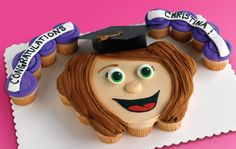 personalized cupcakes - make each one look like one of your friends or family members