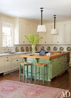 A traditional kitchen by Timothy Corrigan in Los Angeles