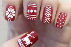 Sweater Weather - Festive Nail Looks for Winter