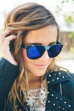 Azure Echo Sunnies, Nectar Clothing