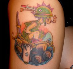 Tank Girl tattoo - by Therhapsody3