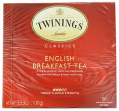 Twinings English Breakfast Tea, Tea Bags