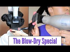 Weave Specialist Reniece Shares Her Blow Dry Technique For Natural Hair